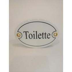 Toilette skylt